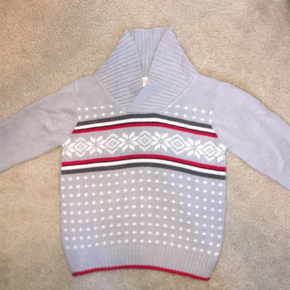 0f86225af69 Gymboree Other - Toddler Boy Fair Isle Gymboree Holiday Sweater 3T